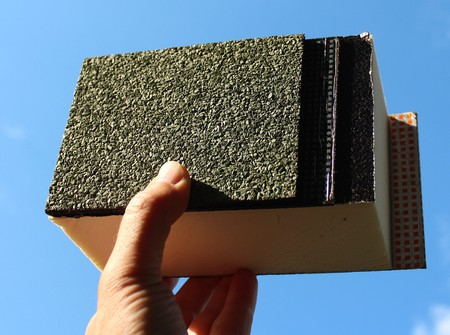 thermal insulation of a roof