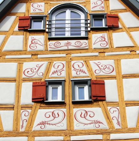 heritage protection: Timbered house