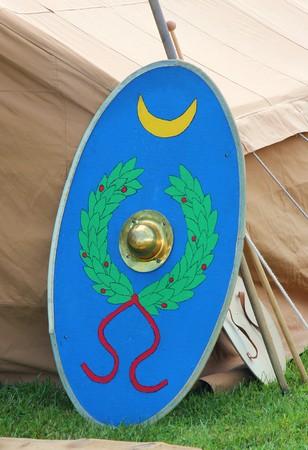Roman shield photo