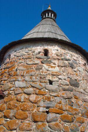 White (Golovenkova) tower of the Solovetsky Kremlin.