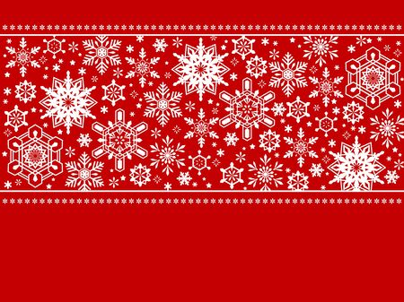 Christmas cards, snowflake patterns, vector materials