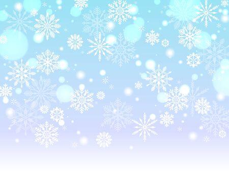 Snow background Vettoriali