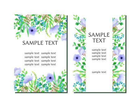 Botanical Illustration Frame