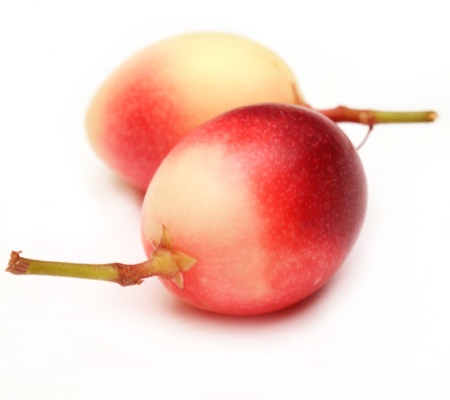 fruit red Stock Photo