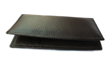 leather wallet photo