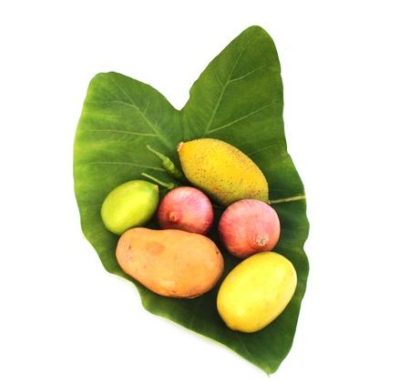 esculenta: Colocasia esculenta   potato,onionn,lemon mixed