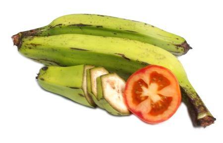 banana   tomatto Stock Photo - 20430522