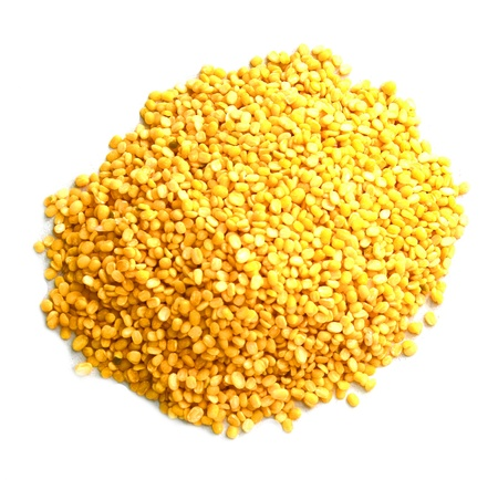 yellow lentils photo