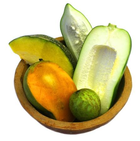 papya, mango   guava