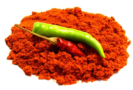 Chili   powder Stock Photo
