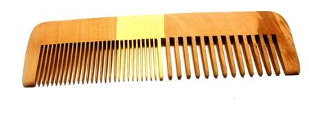 long handled: comb
