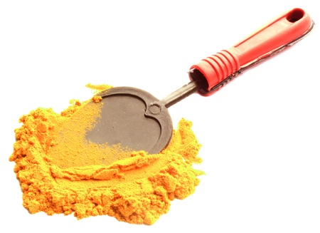 turmeric powder with  sppon