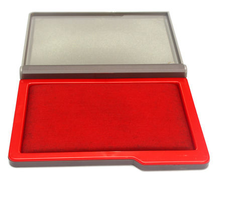 rubber stamp pad