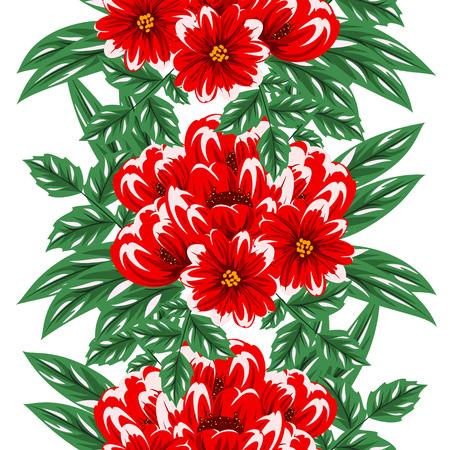dulcet: seamless pattern of flowers