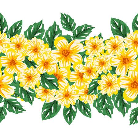 dulcet: Floral pattern.