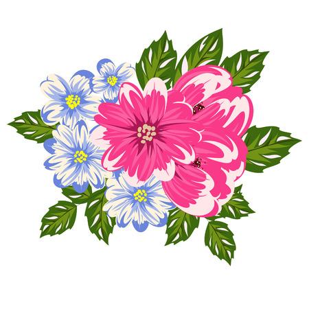 dulcet: Bouquet of flowers icon. Illustration