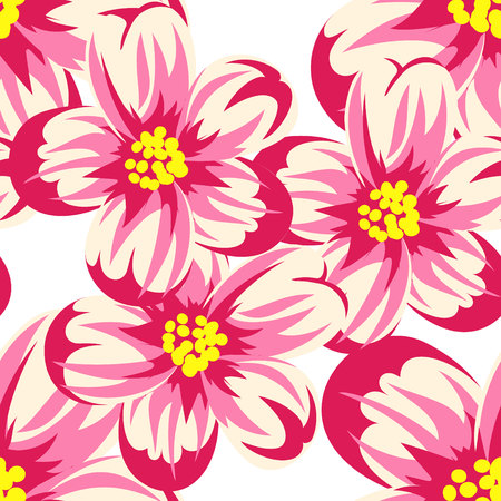 dulcet: seamless floral pattern