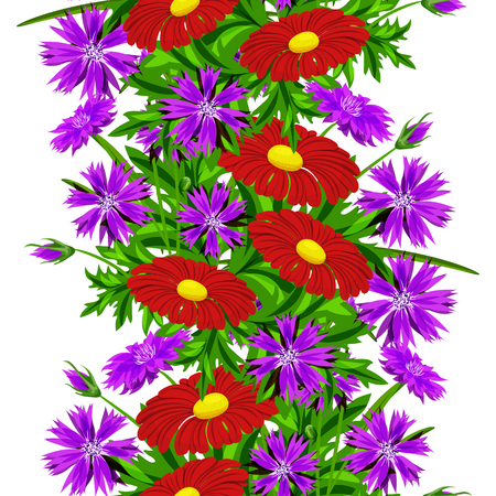 Flower pattern for cards, textiles, backgrounds