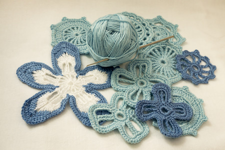prowess: Cotton yarns and Irish lace knit crochet