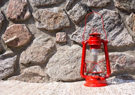 kerosene lamp: Kerosene lamp Stock Photo