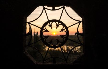 iron barred: The window in the tale