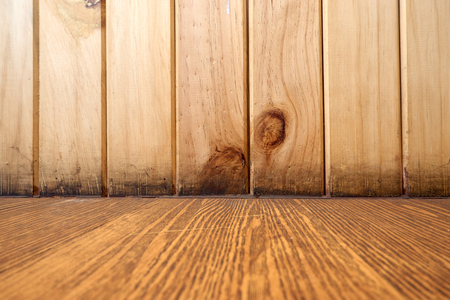 perpendicular: Wood pattern background take from wall and floor perpendicular