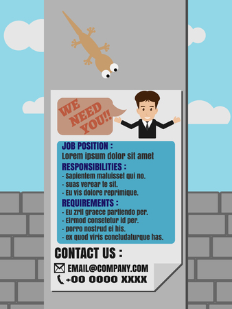 job advertisement: Job Finder advertisement Poster on Electricity Post