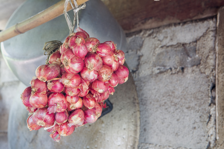 an onions: Cebolla chalote