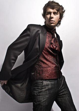 Elegant young man photo