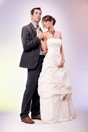 Glamour style wedding photo Stock Photo - 7079124