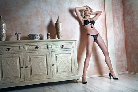 Fashion type photo of an attractive blond beauty photo