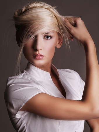 Beautiful young blonde Stock Photo - 8474792