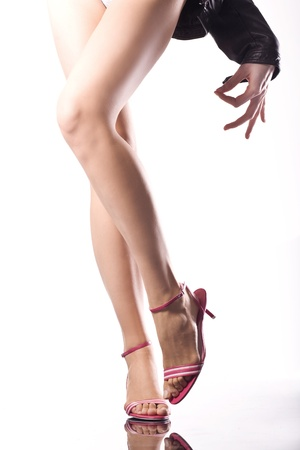 female legs  Stock Photo - 8475214