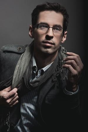 Portrait of an elegant businessman photo