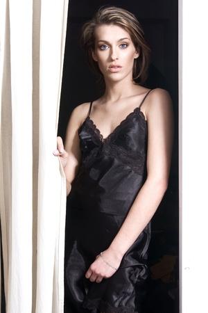 Young fashionable woman photo