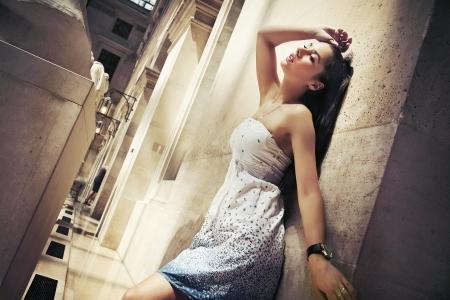 Gorgeous woman posing in a glamourous interior Stock Photo - 9067732
