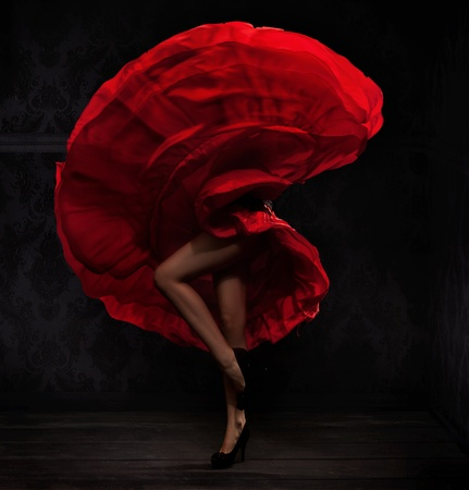 Flamenco dancer photo