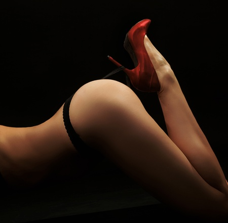 Fine art photo of a woman's butt Stock Photo - 9065499