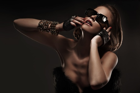 Glamorous woman photo
