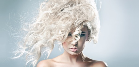 Beautiful blonde woman Stock Photo - 9189284