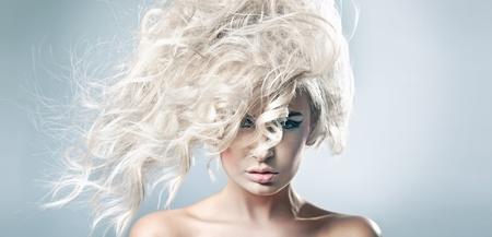 Beautiful blonde woman Stock Photo - 9189284