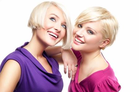 Attractive blonde girls photo