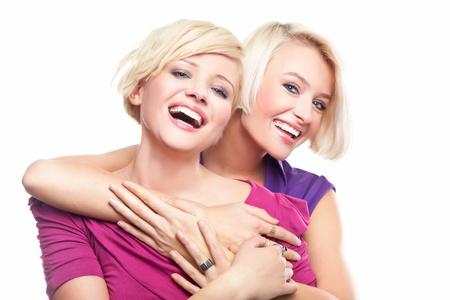 helpmate: Smiling girls shopping
