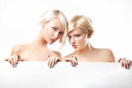 Beauty blonde women photo