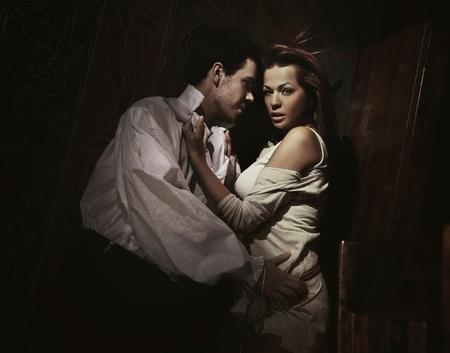 страстный: Модная рожа сексуальной пары