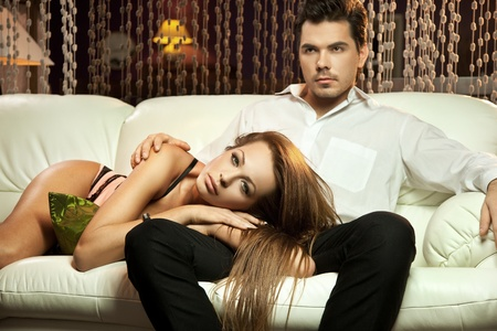 sexual intimacy: Young handsome marriage