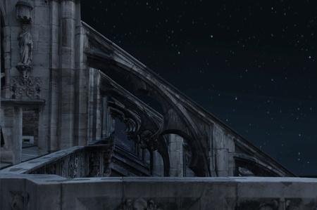 shadows: La parte del antiguo castillo de noche