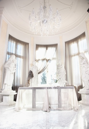 Dining room in luxury home Stock Photo - 9519525