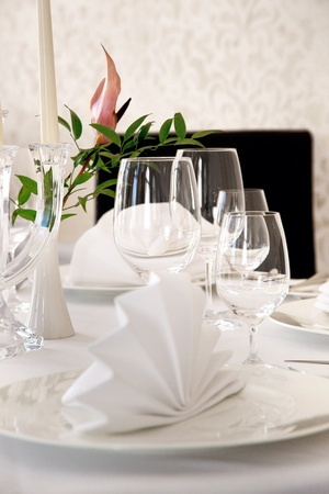 Dining table Stock Photo - 9512833