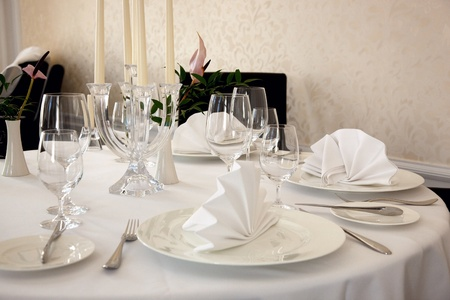 Dining table Stock Photo - 9512847